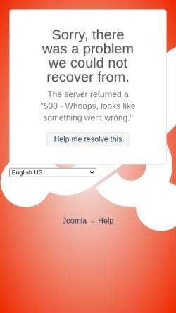 Vorschau der mobilen Webseite www.gimp-scripte.de, Gimp Scripte