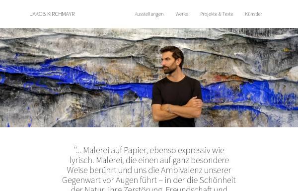 Vorschau von www.jakobkirchmayr.com, Jakob Kirchmayr / Bücher und Illustrationen