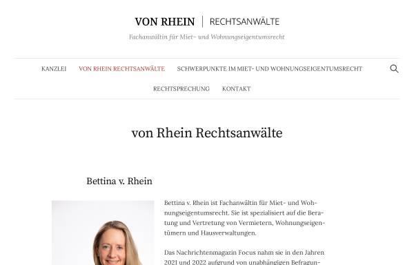 Vorschau von www.ra-vonrhein.de, von Rhein Rechtsanwälte