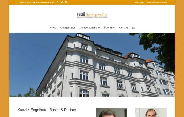 Vorschau von www.kanzlei-ebp.de, Engelhard, Buch & Partner, Widenmayerstr.