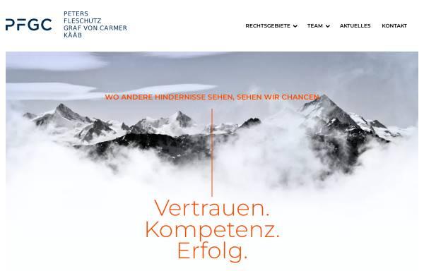 Vorschau von arbeitsrecht.pfgc.de, Peters, Fleschutz, Graf von Carmer, Kääb, Widenmayerstr.