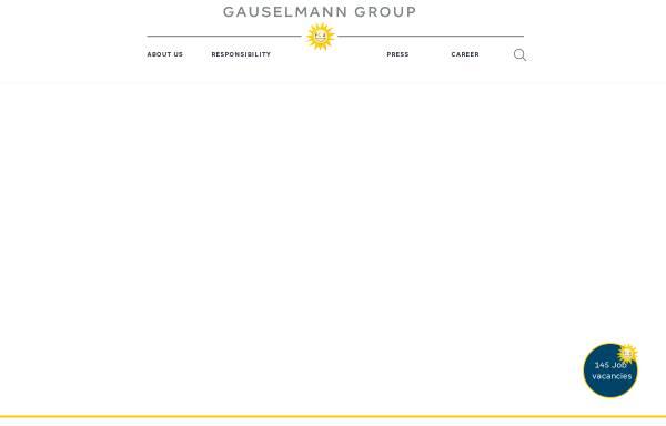 Vorschau von www.gauselmann.de, Gauselmann AG