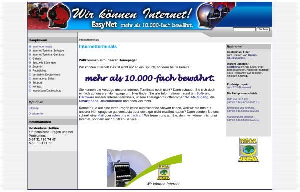 Vorschau von www.megaweb-online.de, Mega-Spielgeräte Entwicklungs- und Vertriebsgesellschaft mbh & Co. KG