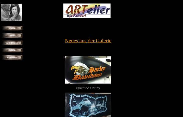 Vorschau von www.airis-online.de, Fanderl, Iris - Atelier