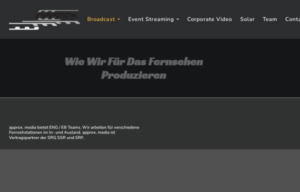 Vorschau von approx.ch, Approx. media