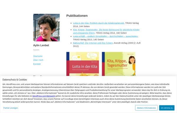 Vorschau von aylinlenbet.wordpress.com, AylinLenbetCoaching - Dipl.-Psych. Aylin Lenbet