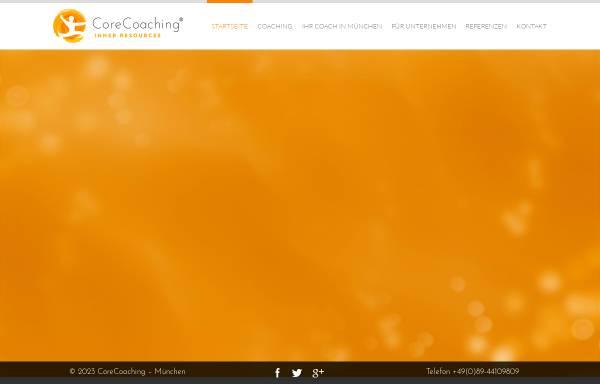 Vorschau von www.corecoaching.de, CoreCoaching - Inner Resources