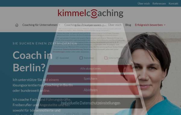 Vorschau von www.kimmelcoaching.de, Kimmelcoaching
