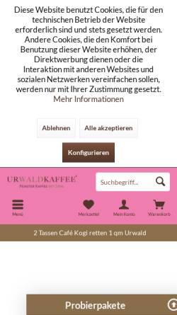 Vorschau der mobilen Webseite oliver-driver.de, Shamanic Coaching