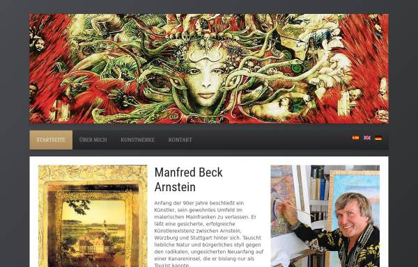 Vorschau von www.beck-arnstein-art.com, Beck-Arnstein, Manfred
