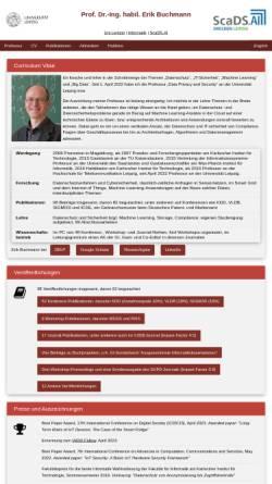 Vorschau der mobilen Webseite www.erikbuchmann.de, Erik Buchmann's Microcontroller-Seite
