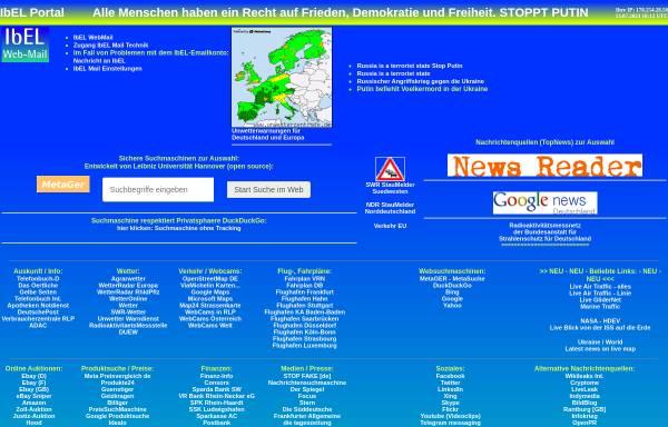 Vorschau von www.ibel.de, IbEL Elektronic