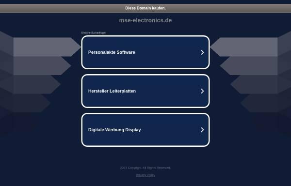 Vorschau von www.mse-electronics.de, Micro Solutions Engineering