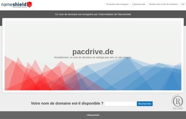 Vorschau von www.pacdrive.de, Pacdrive.de