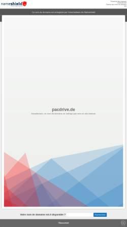 Vorschau der mobilen Webseite www.pacdrive.de, Pacdrive.de