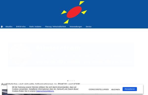 Vorschau von www.bhkw-infozentrum.de, BHKW-Infozentrum Rastatt