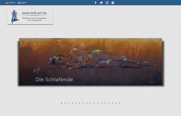 Vorschau von www.brill-art.de, Brill, Thomas