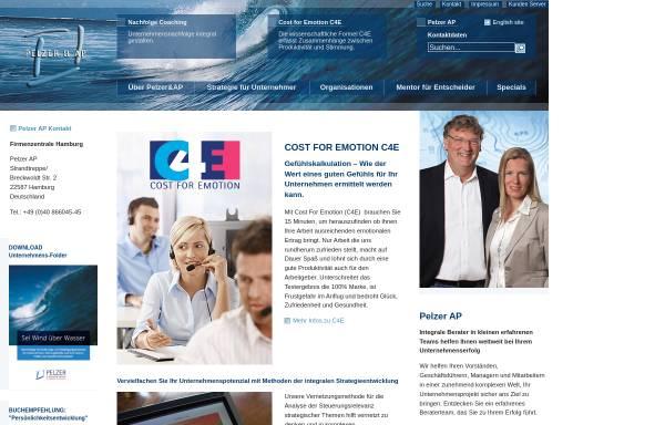 Vorschau von www.pelzerap.de, Pelzer AP