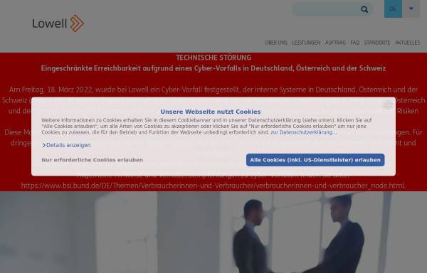 Vorschau von www.inkasso.at, IS-Inkasso Service GmbH & Co KG