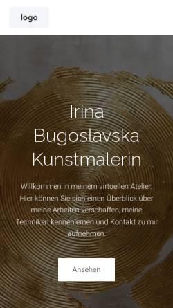 Vorschau der mobilen Webseite www.bugoslavska.de, Bugoslavska, Irina
