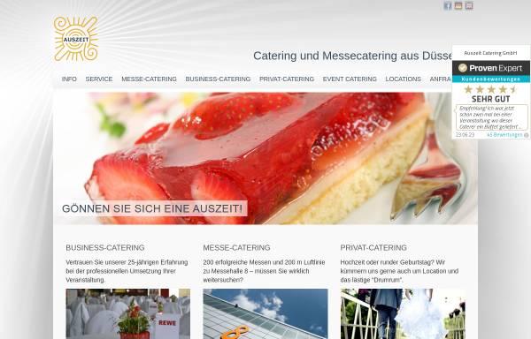 Vorschau von auszeit-dus.de, Auszeit Catering GmbH