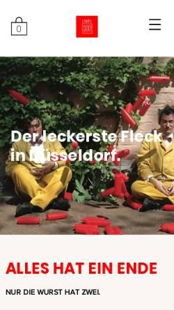 Vorschau der mobilen Webseite www.curry-deutschland.de, Curry