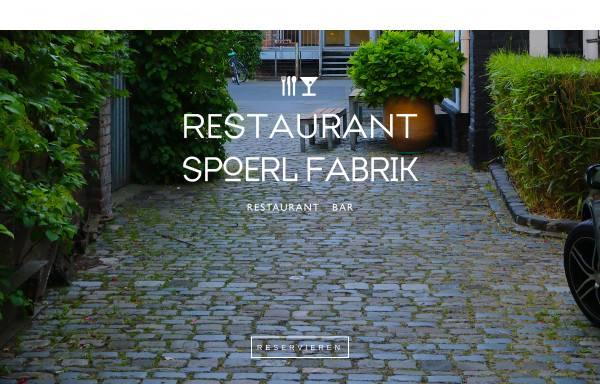Vorschau von www.restaurant-spoerl-fabrik.de, Restaurant Spoerl Fabrik