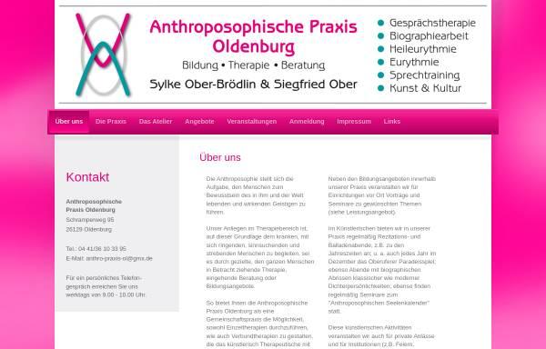 Vorschau von www.anthro-praxis-ol.de, Anthroposophische Praxis Oldenburg