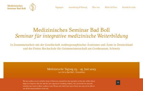 Vorschau von www.medseminar-bad-boll.de, Medizinisches Seminar Bad Boll