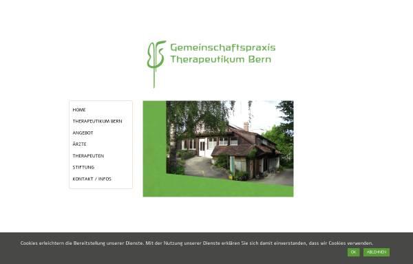 Vorschau von www.therapeutikum-bern.ch, Medizinisch-Künstlerisches Therapeutikum