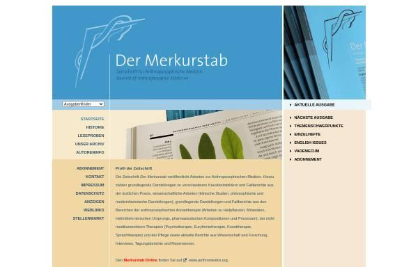 Vorschau von www.merkurstab.de, Der Merkurstab