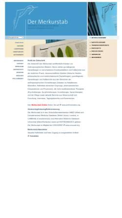Vorschau der mobilen Webseite www.merkurstab.de, Der Merkurstab