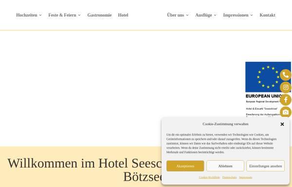 Vorschau von www.hotel-seeschloss.de, Hotel Seeschloss