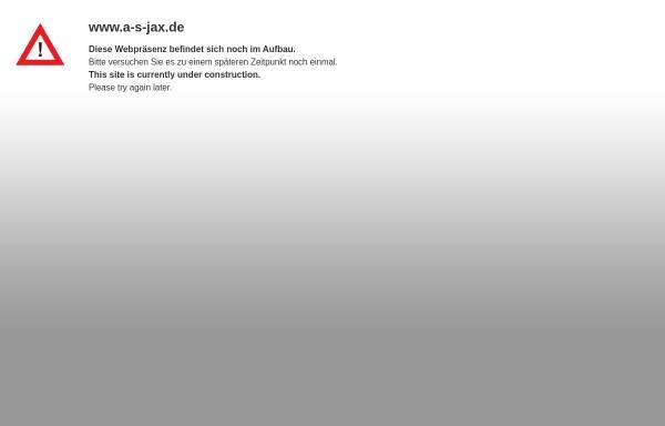 Vorschau von www.a-s-gmbh.de, A&S - Architektur & Stadtplanung GmbH