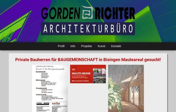 Vorschau von www.gorden-richter-architekt.de, Richter, Gorden