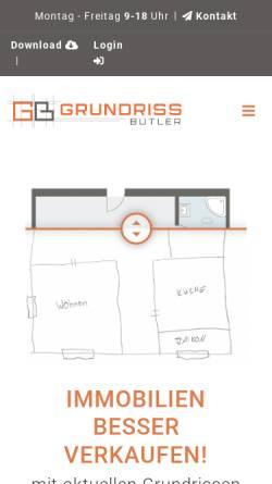 Vorschau der mobilen Webseite www.architekt-waterloo.de, Waterloo, Reinhard