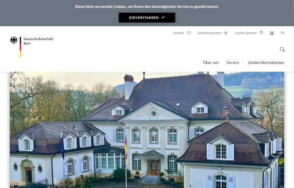 Vorschau von www.bern.diplo.de, Schweiz, deutsche Botschaft in Bern