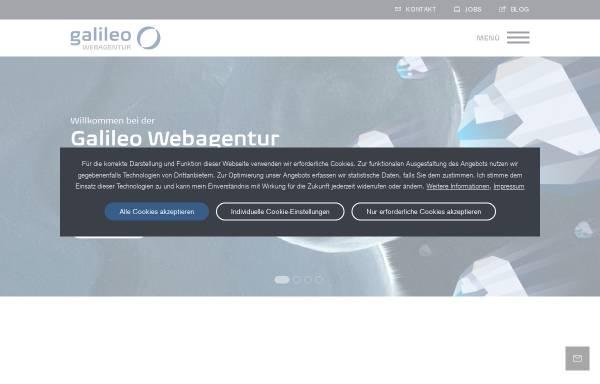 Vorschau von www.galileo-webagentur.de, Galileo Webdesign