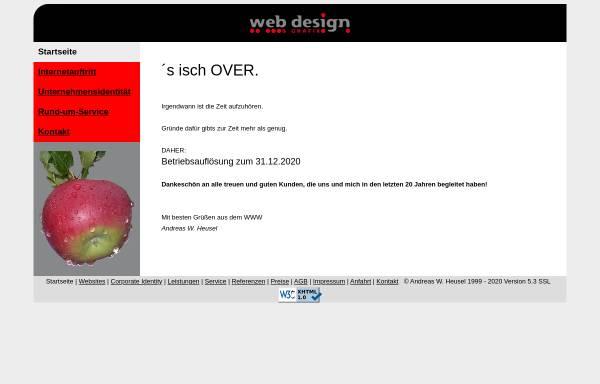 Vorschau von www.heusel.info, Web Design & Grafix