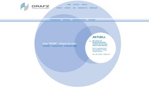 Vorschau von www.drafz-consulting.de, Drafz Consulting GmbH