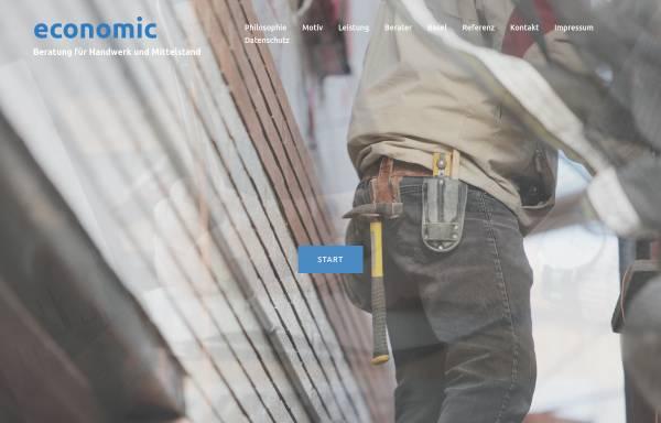 Vorschau von www.economic.de, Economic - Klaus Geis Betriebs- und Wirtschaftsberatung