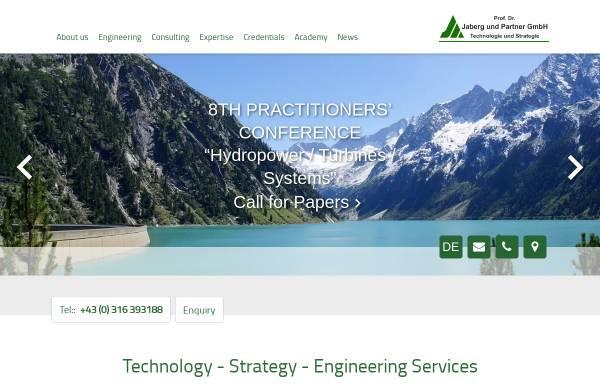 Vorschau von www.jabergundpartner.com, Verbundene Unternehmensberatungen Prof. Dr.-Ing. Jaberg & Partner