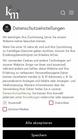 Vorschau der mobilen Webseite michow-concerts.com, Michow Concerts