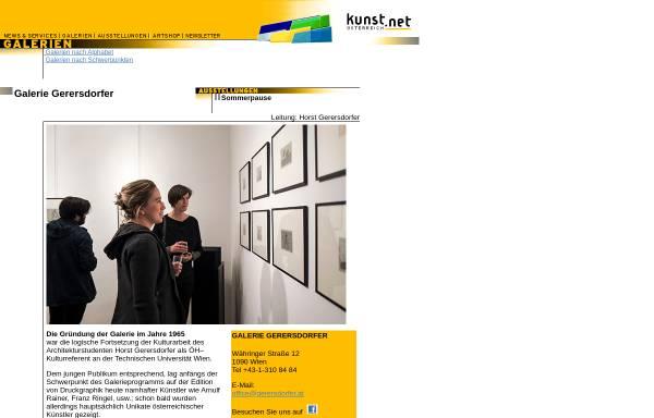 Vorschau von www.kunstnet.at, Galerie Gerersdorfer
