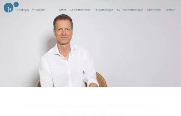 Vorschau von www.christoph-steinmetz.de, Christoph Steinmetz - Praxis für Psychotherapie und Musiktherapie