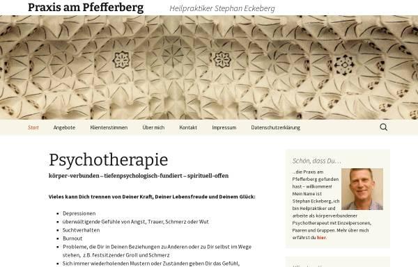 Vorschau von www.praxisampfefferberg.de, Praxis am Pfefferberg