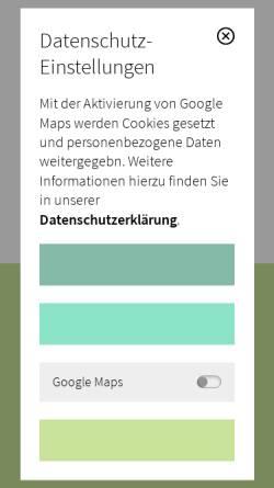 Vorschau der mobilen Webseite www.schmidt-branden.de, Praxis Dr. Torsten Schmidt-Branden