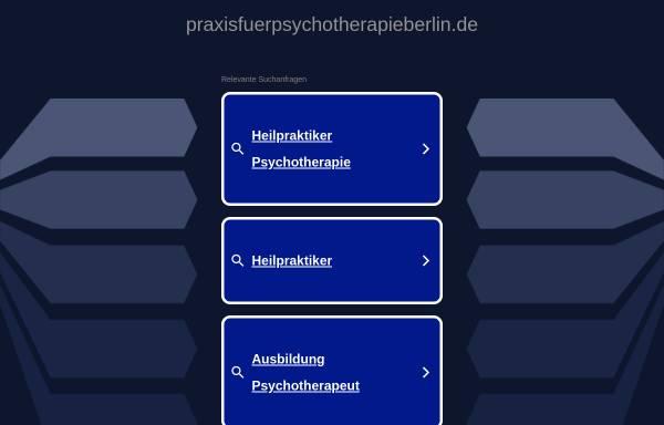 Vorschau von www.praxisfuerpsychotherapieberlin.de, Praxis für Psychotherapie Berlin (HPG)