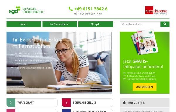 Vorschau von www.klett-akademie.ch, Klett Akademie