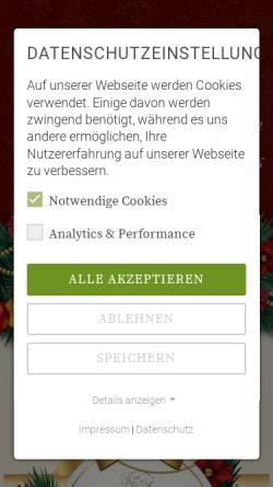 Vorschau der mobilen Webseite www.weihnachten-dresden.de, Weihnachten in Dresden